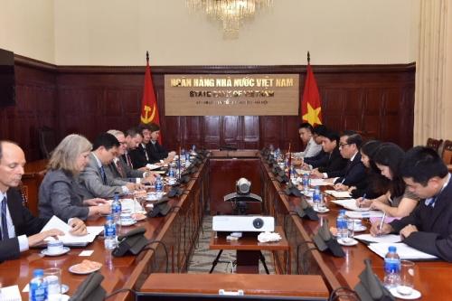 Tăng cường hợp tác giữa ngân hàng Việt Nam và các đối tác Hoa Kỳ