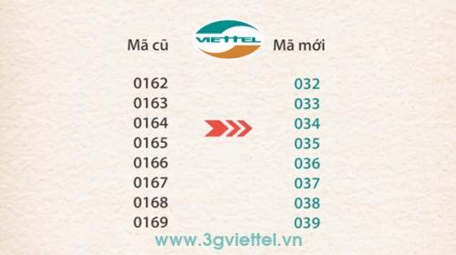 Viettel chuyển thành công đầu số 0169.66 về đầu số 039.66