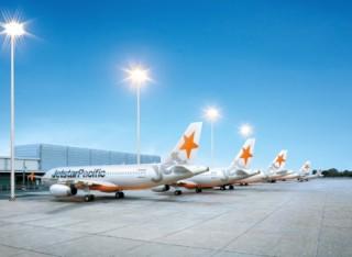 Jetstar Pacific ngừng một số chuyến bay do bão Mangkhut