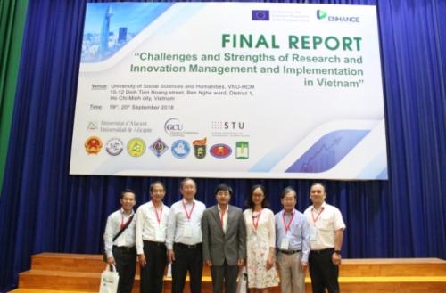 Dự án ENHANCE: Cần kết nối doanh nghiệp tư nhân