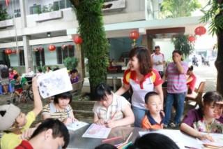 Một ngày đón Trung Thu cùng trẻ khuyết tật