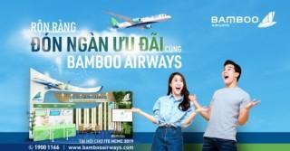Bamboo Airways tung hàng ngàn vé ưu đãi tại Hội chợ ITE 2019