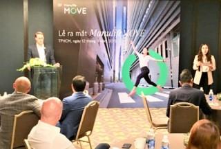 ManulifeMOVE - ứng dụng khuyến khích lối sống lành mạnh