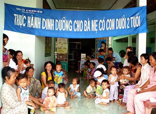 Cần tăng cường giải quyết vấn đề thiếu dinh dưỡng trẻ em