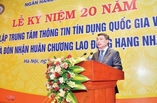 Thống đốc NHNN Lê Minh Hưng: CIC cần trở thành Trung tâm TTTD hoạt động hiệu quả trong khu vực
