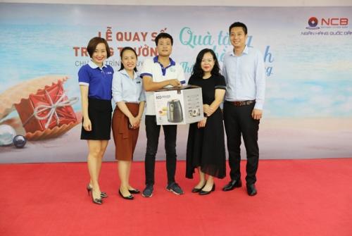 'Chúng tôi hài lòng với chất lượng dịch vụ và quà tặng của NCB'