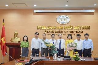 NHNN bổ nhiệm Vụ trưởng Vụ Tín dụng các ngành kinh tế và giao phụ trách Vụ Tài chính - Kế toán