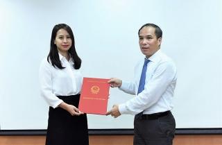 Bổ nhiệm Phó Cục trưởng Cục II thuộc Cơ quan Thanh tra, giám sát ngân hàng