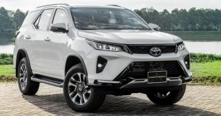 Toyota Fortuner 2021 - giá giảm, thêm option