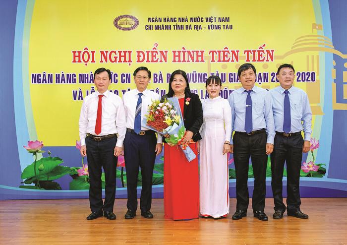 Ngành Ngân hàng tỉnh Bà Rịa - Vũng Tàu: Khẳng định vị thế nhờ làm tốt công tác thi đua