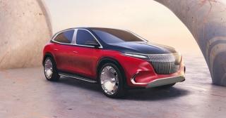 Ra mắt Mercedes-Maybach EQS SUV