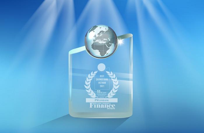 PVcomBank tiếp tục khẳng định vị thế bằng 3 giải thưởng quốc tế