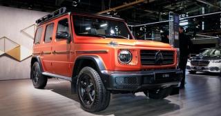 Mercedes-Benz G-Class 2022 sẽ được cá nhân hóa nhiều hơn