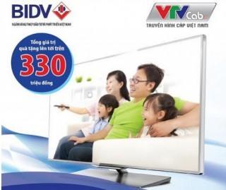 BIDV phối hợp với VTV Cab triển khai Dịch vụ Thanh toán hóa đơn truyền hình
