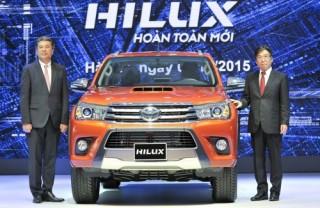 Toyota Hilux mới có giá từ 693 triệu đồng tại Việt Nam