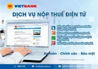 Nhiều lợi ích khi nộp thuế tại VietBank