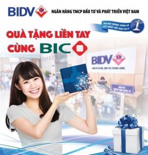 Quà tặng liền tay cùng BIC