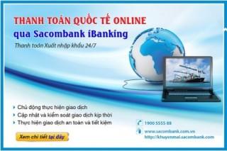 Thanh toán quốc tế trực tuyến mọi lúc mọi nơi