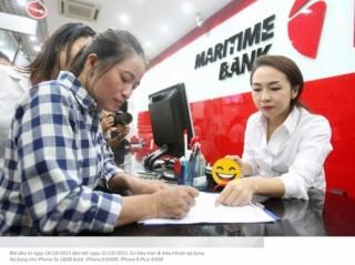 "Maritime Bank trao tiền cho chị Hồng ""ve chai"""