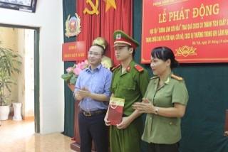 Tân Hiệp Phát thăm hỏi các chiến sĩ PCCC bị thương