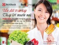 Chủ thẻ SeABank sẽ được hoàn 10% giá trị đơn hàng