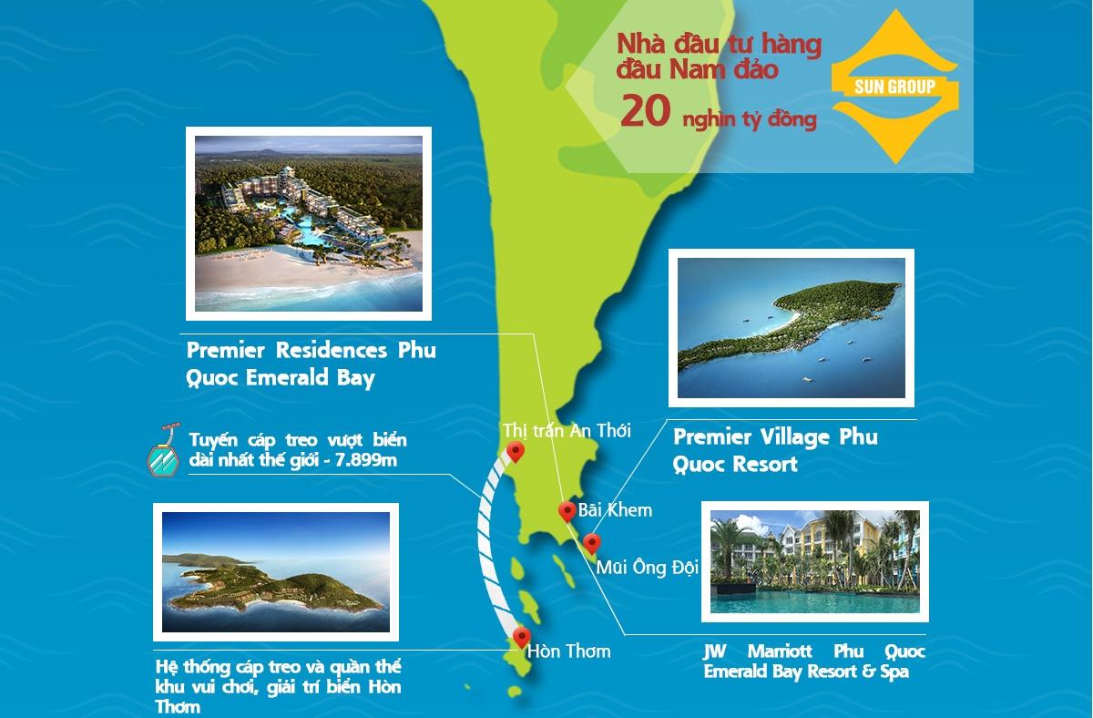 Nhà đầu tư bất động sản Singapore đang hướng về Nam Phú Quốc