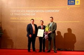 """BIDV đạt chứng nhận """"Đối tác đào tạo đạt chuẩn"""" của CPA Úc"""