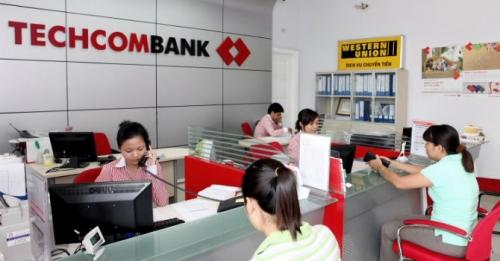 Techcombank được thành lập 01 chi nhánh và 02 phòng giao dịch