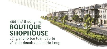 [Infographics] Vì sao biệt thự thương mại boutique shophouse Hạ Long hút khách nhất miền Bắc?