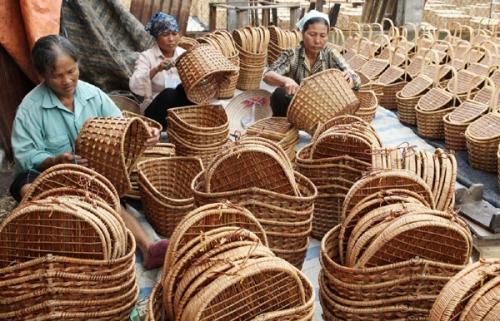 Kết nối cung cầu ngành mây tre đan xuất khẩu