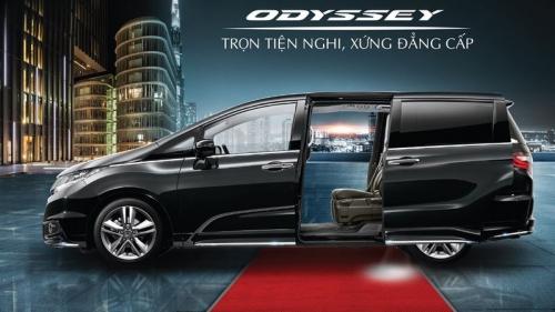 Honda Odyssey 2018 bổ sung trang bị, giá không đổi tại Việt Nam