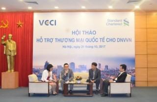 Chung tay hỗ trợ DNNVV trong thương mại quốc tế