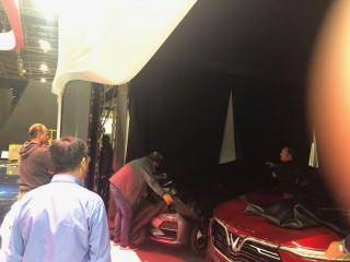 Cận cảnh hai mẫu xe VinFast trước giờ ra mắt tại Paris Motor Show 2018