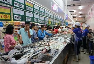 Thủy sản nghẽn lối vào siêu thị