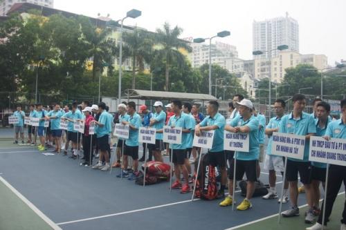 Cúp quần vợt ngành Ngân hàng Hà Nội lần thứ XVIII