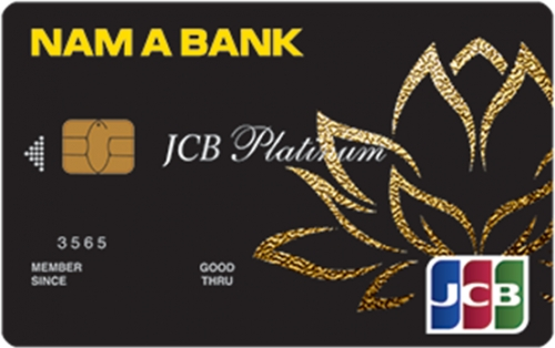 Nam A Bank ra mắt thẻ tín dụng Nam A Bank JCB