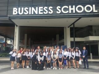 Sinh viên ICAEW Việt Nam trải nghiệm tại trường Singapore Polytechnic