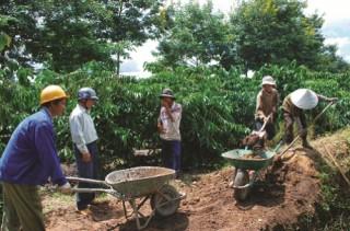 Nan giải xây dựng nông thôn mới