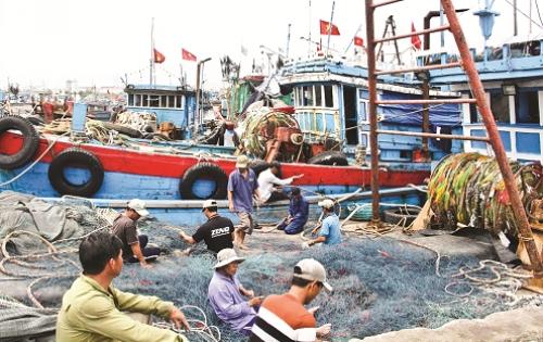 Xăng dầu tăng giá, tàu cá nằm bờ?