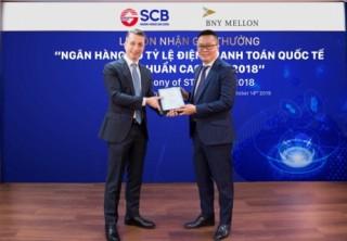 SCB nhận giải thưởng thanh toán quốc tế