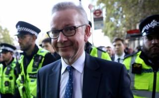 Bộ trưởng Chính phủ Anh Michael Gove: Anh sẽ rời EU vào ngày 31/10