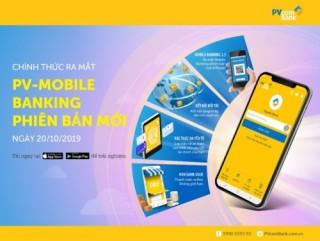 PVcomBank ra mắt phiên bản mới của ứng dụng PV-Mobile Banking