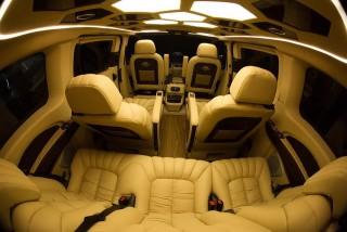 Ford Tourneo phiên bản độ limousine có giá từ 1,25 tỷ đồng