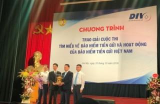 Trao giải Cuộc thi tìm hiểu về BHTG và hoạt động của BHTG Việt Nam