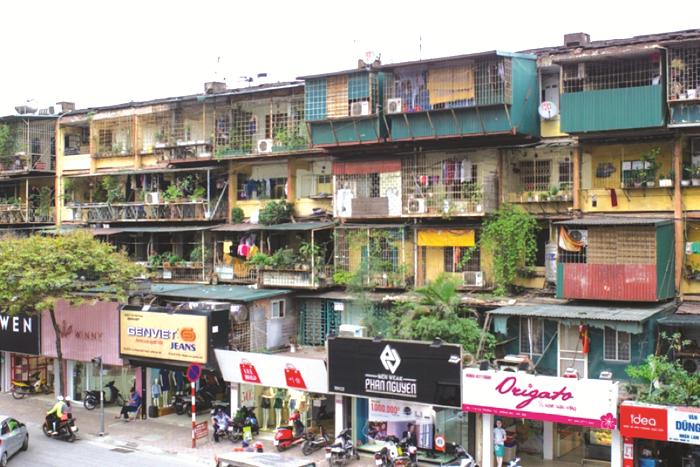 Cải tạo chung cư cũ: Đề xuất thí điểm cơ chế, chính sách đặc thù