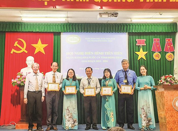 Ngân hàng Nhà nước chi nhánh tỉnh Đồng Tháp: Thi đua nhằm đổi mới kinh tế nông nghiệp nông thôn