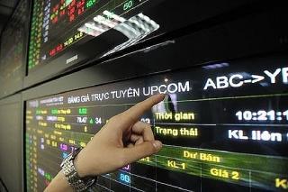 UPCoM tháng 9 giao dịch đạt 433,6 tỷ đồng/phiên