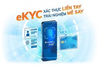 Xác thực danh tính trực tuyến và mở tài khoản giao dịch ngay trên Sacombank Pay