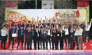 Giải Futsal HDBank Vô địch Quốc gia 2020: Thái Sơn Nam lần thứ 5 liên tiếp lên ngôi vô địch