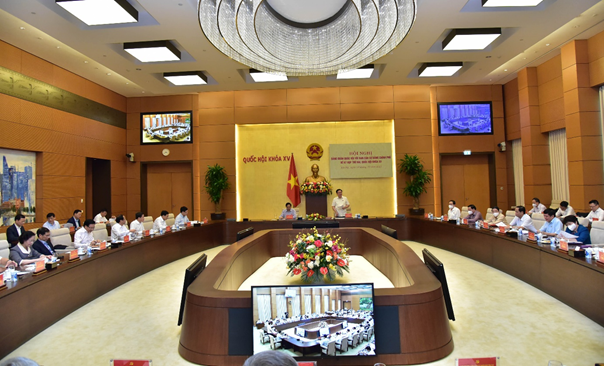 Thủ tướng Chính phủ và Chủ tịch Quốc hội chủ trì hội nghị về chuẩn bị Kỳ họp thứ Hai, Quốc hội khóa XV